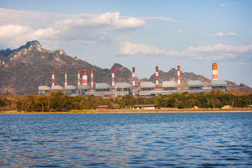 Coal power plant, Mae Moh Power Plant, Lampang, Thailand