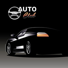 The Black car