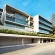 Leinwandbild Motiv Modern architecture, building