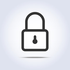 Closed lock icon