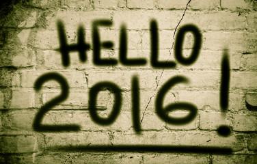 Hello 2016 Concept