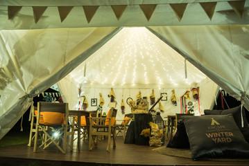 interior camping