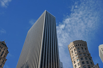 skyscraper in san francisco, america