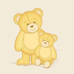 Cute teddy bears for kids.