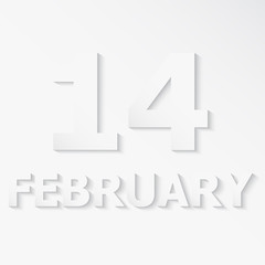 FEBRUARY 14 Valentine's Day
