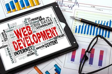 web development word cloud