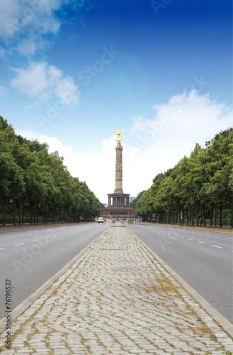 canvas print picture Berlin Siegessäule
