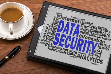data security word cloud