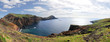 Leinwanddruck Bild - Panorama of the east coast of Madeira