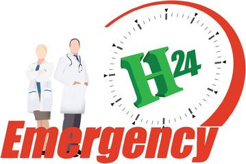 h 24 emergenza medica