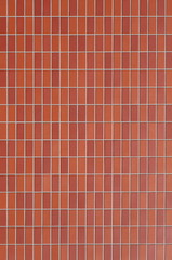 New red brick wall texture and background