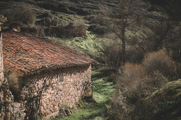 House in the town of Ura, Burgos
