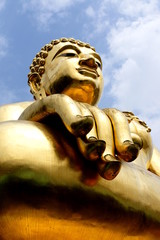 Golden triangle's big Buddha