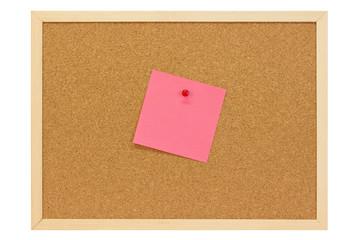 Rosa Notiz - Pink note