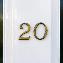 house number 20