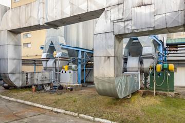 Fumes installation - Poland.