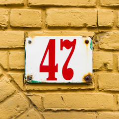 house number 47