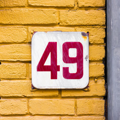 house number 49