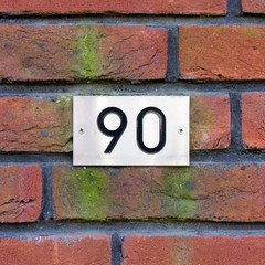 house number 90