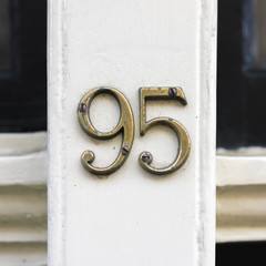 house number 95