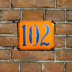 house number 102