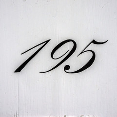 house number 195