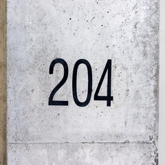 house number 204