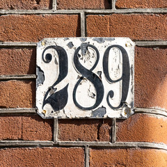 house number 289