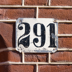 house number 291
