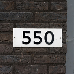 house number 550