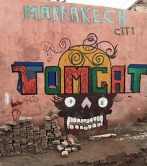 Marokkanisches Graffiti