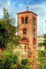 Belfry of the Church of Saint Demetrius in Thessaloniki, Greece