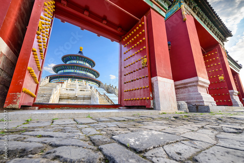 Foto op Canvas Beijing Beijing, China at Temple of Heaven
