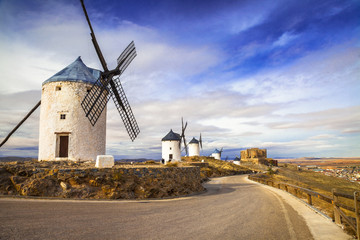 spanish windmills. Cosuegra