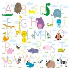 ABC animals zoo