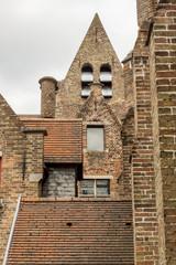 Roofs of The Memlingmuseum, Bruges, Belgium