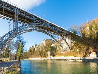 Kirchenfeldbrücke und Bundeshaus Bern