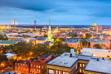 Downtown Savannah, Georgia, USA