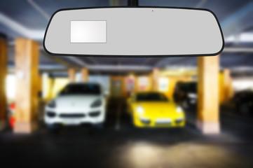 Mirror's car .
