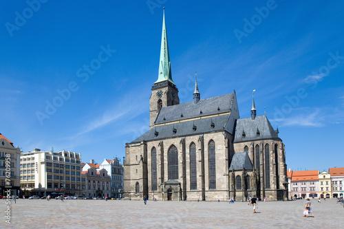 Cathedral of St. Bartholomew, Plzen, Czech republic