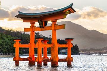 Miyajima Torii gate, Japan.