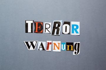Terrorwarnung