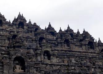 Borobudur temple in Yogyakarta, Indonesia