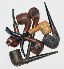 a bunch of pipes
