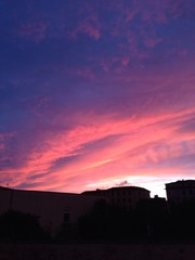 tramonto a livorno