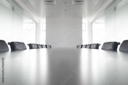 Staande foto Industrial geb. Boardroom at an agency firm