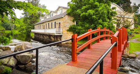 Red Foot Bridge