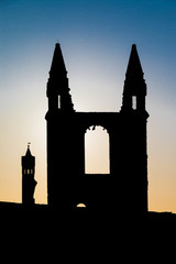 St. Andrews Cathedral Silhouette