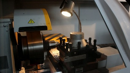 fast work a lathe in the workshop