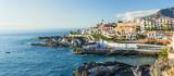 Fototapety Panorama La Caleta fishing village on the coast of Tenerife isla